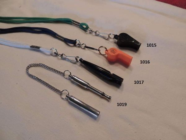 Acme Whistles four different styles all come with Lanyards