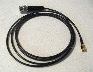 BNC to SMA Adapter for Tracker receiver or roof mount Omni anten