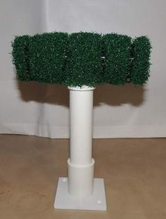 PADDED TEE PERCH WITH STADIUM ASTRO TURF