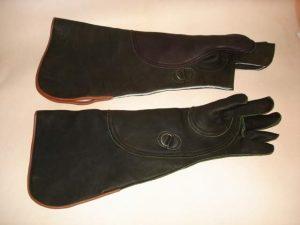 Northwest Eagle Gauntlet set of two gloves Left hand only 21 inch long.