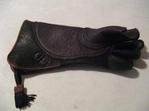 Buffalo & Cowhide Eagle glove, LEFT HAND