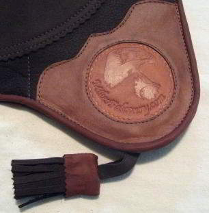 """RED TAIL HAWKING GLOVE 15"""" long (Brown color)"""