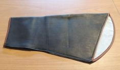 COWHIDE ARM COVER SHEATHS  -  (RIGHT HAND ONLY) 19 inches LONG