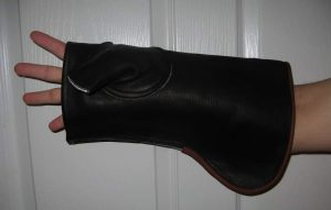 COWHIDE GLOVE SHEATH RIGHT HAND 14.5 inches LONG