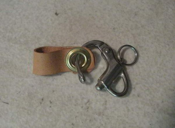 SNAP SHACKLE STAINLESS STEEL, EXTRA SMALL