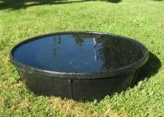 Flexable Rubber Bath Pan for Hawks or Falcons 16 inch diameter