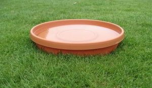 PLASTIC BATH PANS FOR SMALL RAPTORS 12 INCH DIAMETER
