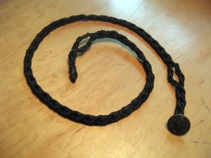 BRAIDED DACRON & BUNGEE CORD FOX LOOP LEASH