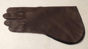 DEER HIDE LONG CUFF GLOVE 13 to 15 INCH LONG
