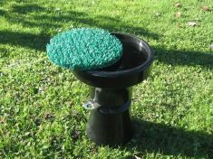 SPARE LONG LEAF ASTRO TURF PERCH TOP DISK 8 inch diameter