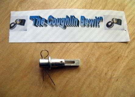 THE COUGHLIN BULLET BEWIT FOR USE WITH BELLS OR TRANSMITTERS