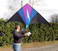 DELTA HIGH FLYING TRAINING KITES