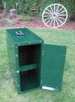 LARGE RAPTOR TRANSPORT CARRIER - Red tail and Harris hawk size birds, Carrier must ship by itself.