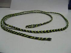 FLAT BRAIDED FOUR STRAND DACRON LEASHES 46 inch long