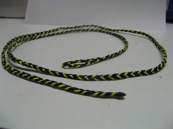 FLAT BRAIDED FOUR STRAND DACRON LEASHES 46 inch long