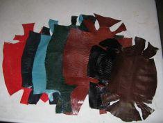 Lizard Skins for hood making.