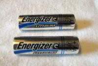 Double AA batteries
