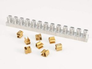 Marshall Aluminum Feather Mounting Clips come in five sizes all sold separately