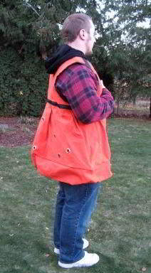 GAME BIRD PLANTERS VEST FOR DOG TRAINING