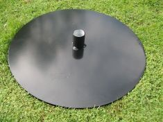 "PORTABLE HAWK OR FALCON PERCH BASES 15"" diameter"