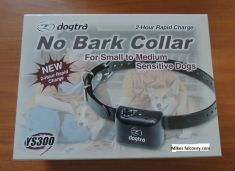 THE DOGTRA YS300 IS A NO-BARK COLLAR SMALL TO MEDIUM DOGS
