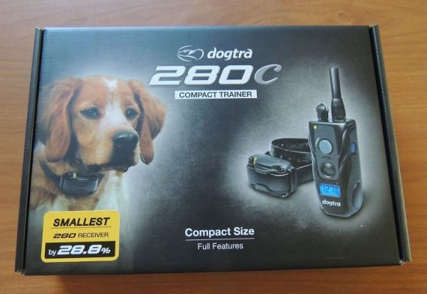 THE DOGTRA 280C IS AN ULTRA COMPACT FOR SMALL TO MEDIUM SIZE DOGS