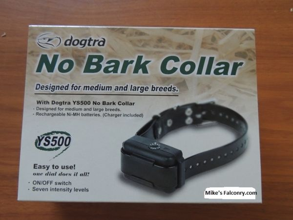 THE DOGTRA YS-500  IS A NO BARK COLLAR FOR Medium to Large Dogs