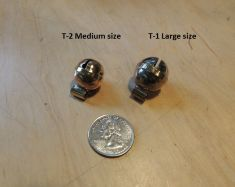 Single Equator Tail Bell comes in two sizes by Larry Counce
