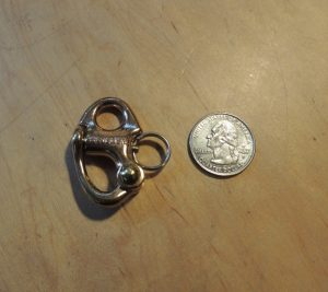 Snap Shackle Bronze, small