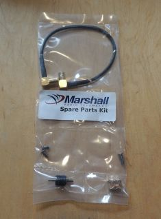 SPARE MARSHALL RECEIVER TO ANTENNA CABLE REPAIR KIT