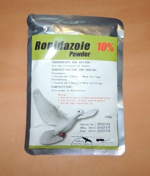 Ronidazole Powder used to treat Canker or Frounce. 10% or 20%
