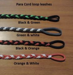 A  New Buttonless Braided Para-cord Leash 4.5 ft long