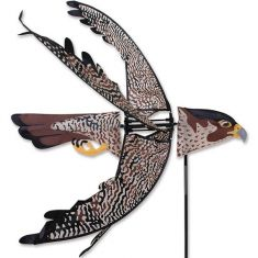 A WIND YARD AND GARDEN SPINNER -  PEREGRINE FALCON SPINNER