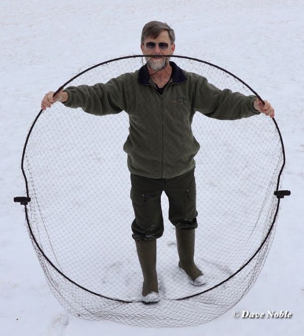 BOWNET CUSTOM 5 FOOT DIAMETER MANUAL OR REMOTE FAST AND EASY TO USE