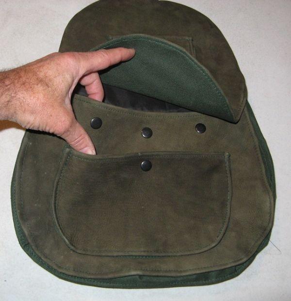 SIERRA HAWKING SUEDE COWHIDE BAG