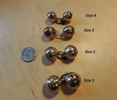 Equator re-enforced leg Bells Brass by Larry Counce