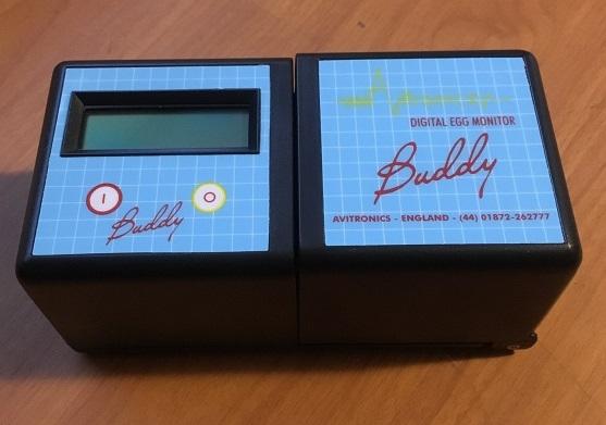 Buddy Mk2 Digital Egg Monitor by Avitronics
