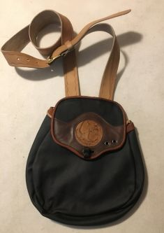 MICRO SIZE ALL LEATHER TRADITIONAL HAWKING BAG SIZE SMALL