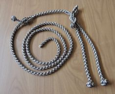 A  NEW EIGHT STRAND ROUND BRAIDED EAGLE LEASH SETUP – SWIVEL NOT INCLUDED
