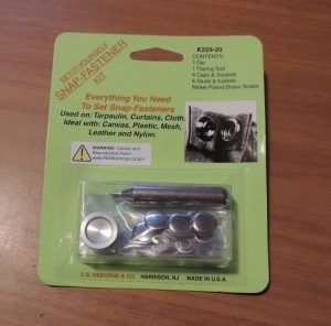 A - SNAP INSTALL KIT / GREAT FOR MAKING REMOVABLE BEWITS ETC