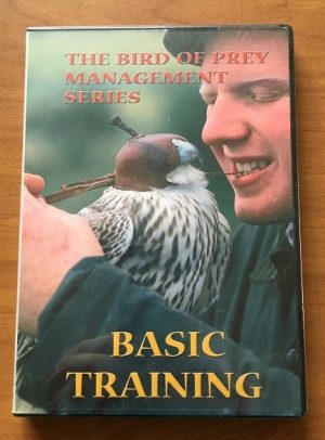 Basic Training video, DVD. A GREAT VIDEO FOR ALL NEW APPRENTICE FALCONERS. STEP BY STEP HELP.