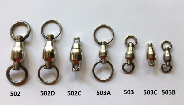 ALL SIZE SAMPO SWIVELS AND STRENGTHS
