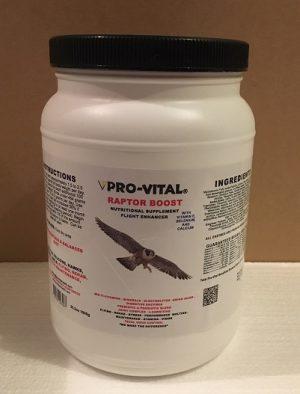 Raptor Boost vitamin supplements 35.2oz or 1000g