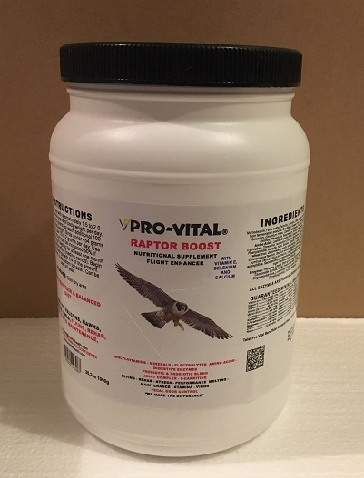 Raptor Boost vitamin supplements 35.2oz or 1000g