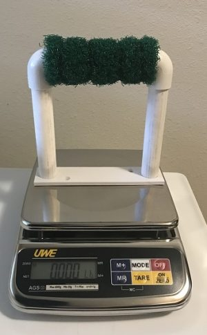 A  TOP QUALITY DIGITAL SCALE ALL STAINLESS STEEL 3000gram x 1/2gram good up to 6.9lb
