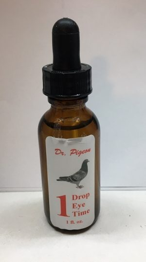 ONE DROP ONE EYE ONE TIME, BY DR PIGEON