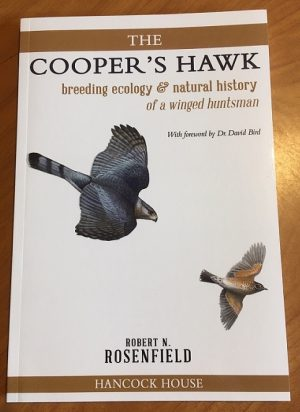 a - The Cooper's hawk: Breeding ecology & natural history of a winged huntsman.