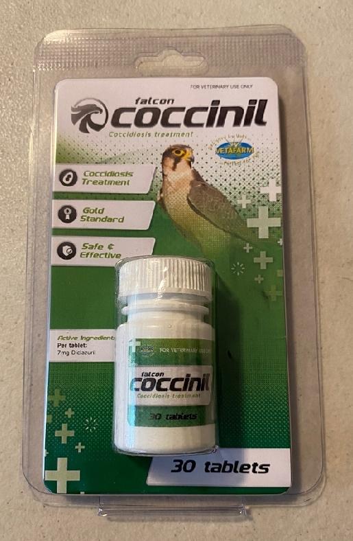 FALCON COCCINIL TABLETS FOR COCCIDIOSIS TREATMENT